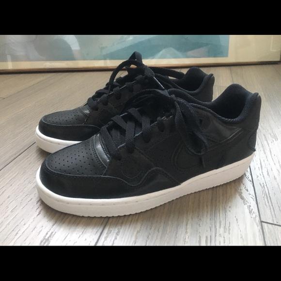 Nike Shoes   Nike Force Black Leather